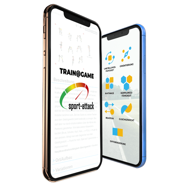 Train @ Game - die App