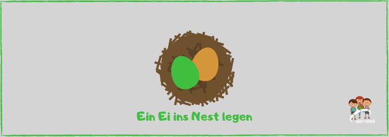 Blog ein Ei ins Nest legen