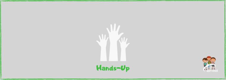 Blog Hands up