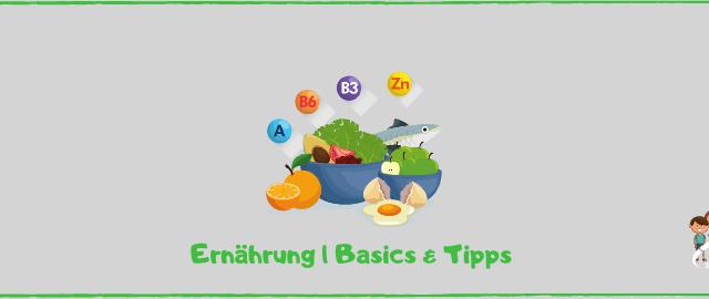 Blog Ernährung Basics