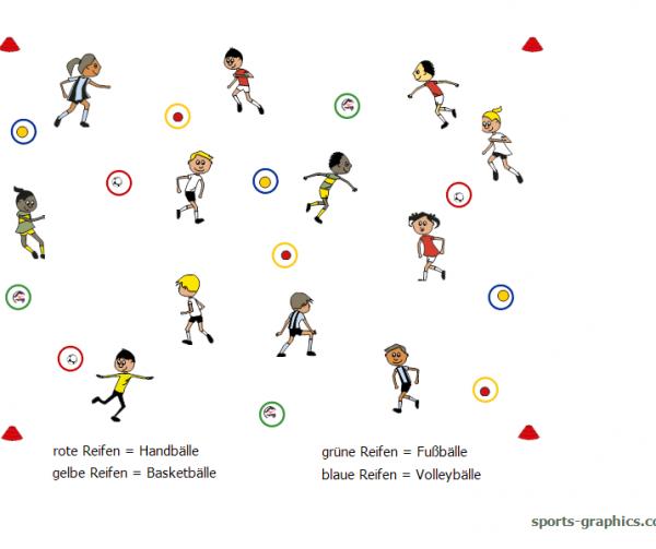Ballspiel für Kinder