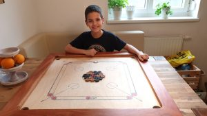 Spiele für zu Hause Carrom Pauli