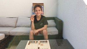 Spiele für zu Hause Backgammon