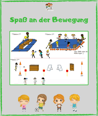 Workshop Best of Bewegungsspiele