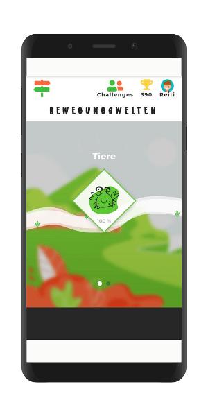 train@game Gamification Bewegungswelten