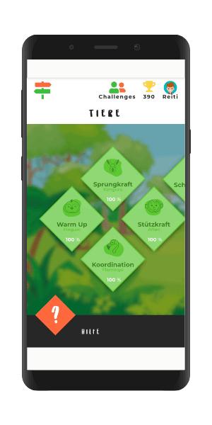 train@game gamification Tierwelt