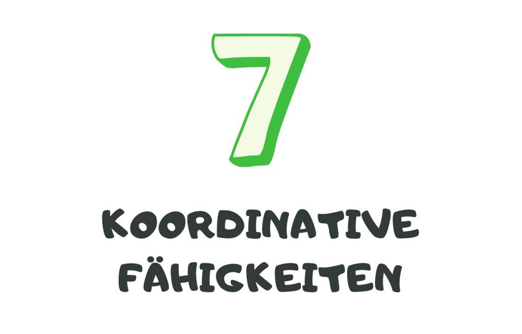 7 koordinative Fähigkeiten
