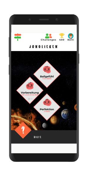 Gamification the next Level Jonglieren