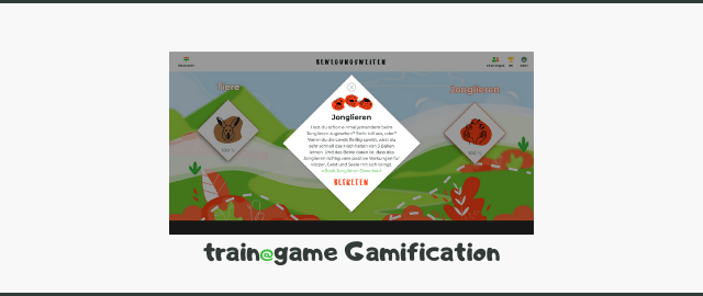 Blog train@game Gamification
